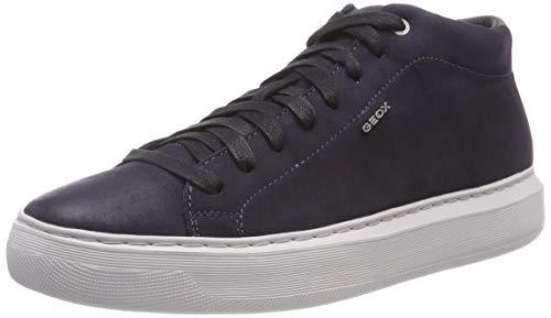 navy Collo Geox A Sneaker Uomo Alto U Blu C4002 Deiven A 7XzqFXr