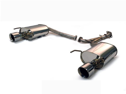 Rear Section Cat Back Exhaust - 2