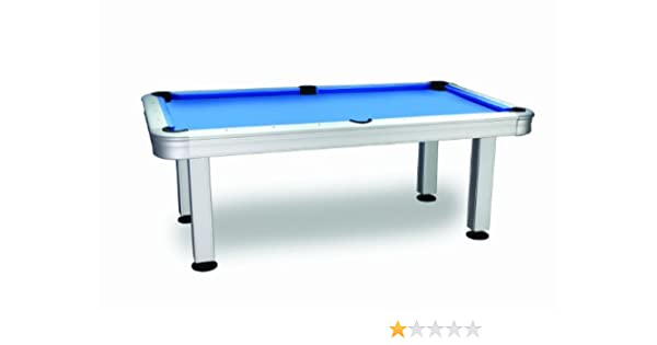 Imperial International 7 ft. non-slate al aire libre mesa de billar con accesorios - 26-730, 84 in., Azul: Amazon.es: Deportes y aire libre