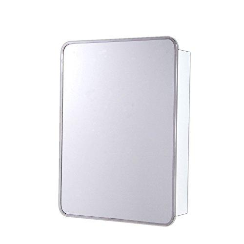 Rounded Corner Medicine Cabinet Size Hinge 22 H x 16 W x 5 D Left