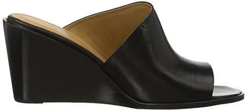 Filippa K Shoes Abbi Wedge Mule - Sandalias con tacón Mujer Black (Black)