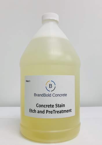 BrandBold Brilliance Concrete Acid Stain Pre-Treatment Etch and Clean - Step 1 ()