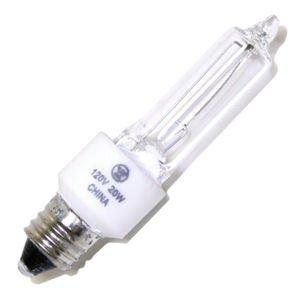 Westinghouse 0625600, 20 Watt, 120 Volt Clear Incand T3 Light Bulb, 2000 Hour 200 Lumen ()