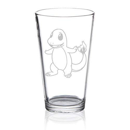 (Charmander - Etched Pint Glass)
