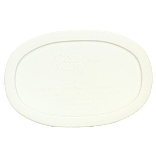 Corningware F-15-PC Oval French White 15-ounce Plastic Lid