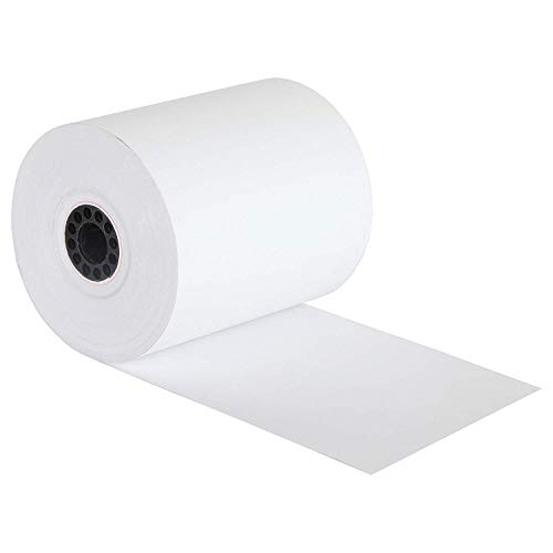 FHS Retail Thermal Paper Cash Register Rolls, 3 1/8 x 230', 50 Rolls In Case, Made in USA/Canada by FHS Retail (Image #2)