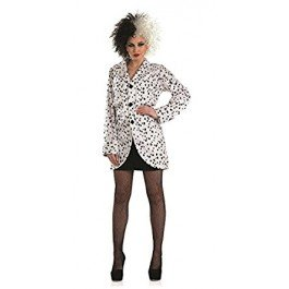 Ladies Dalmatian Jacket (Cruella Costume Uk)