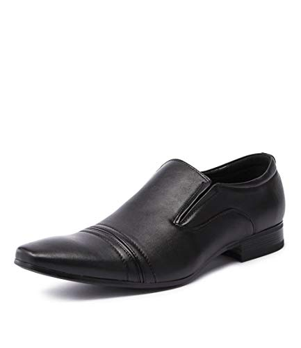 Dress Black Slip smooth Black Shoes On TRENGROVE Mens UNCUT w5X1zURqq