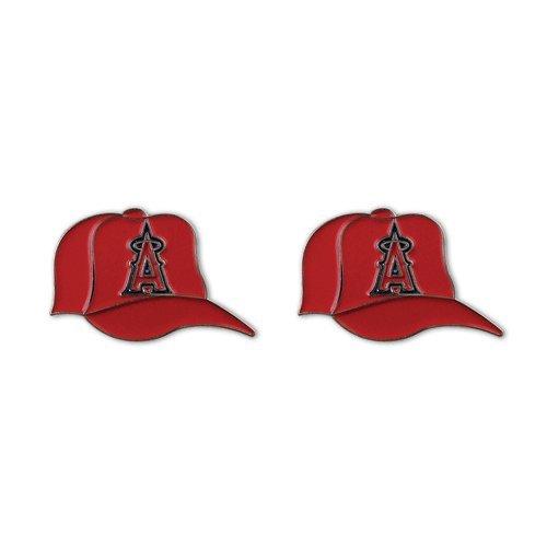 (Los Angeles Angels Rally Cap MLB Stud Earrings)
