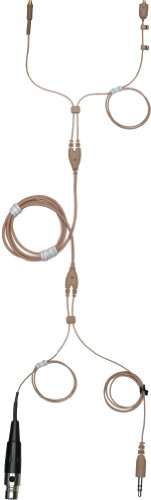 Countryman EM6T1LT  Single Earphone Integration EM6 Earset Cable for Lightspeed Transmitters (Tan) by Countryman