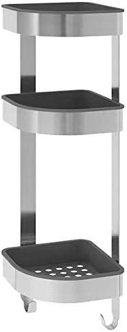 IKEA - Estantería esquinera de pared de acero inoxidable