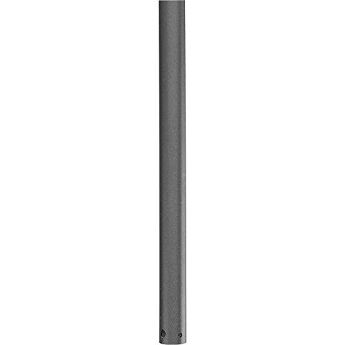 Progress Lighting P2609-143 AirPro Collection 72 in. Ceiling Fan Downrod, Graphite