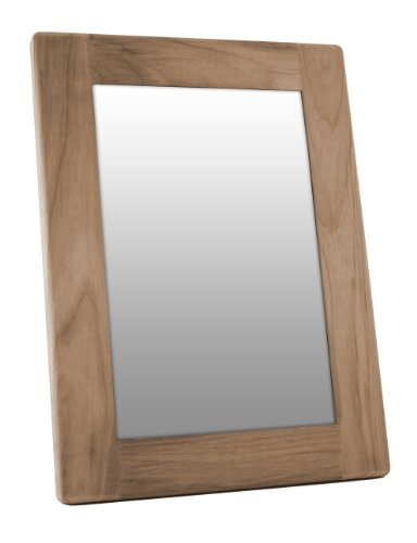 Teak Outdoor Frame - SeaTeak 62544 Rectangular Mirror