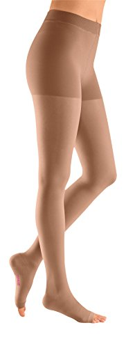mediven plus, 30-40 mmHg, Compression Pantyhose, Open Toe