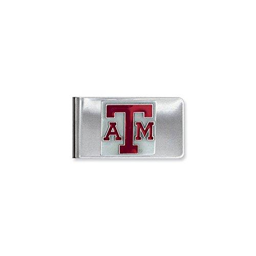 Best Birthday Gift Collegiate Texas A & M Money Clip