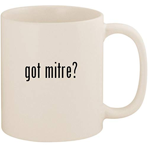 - got mitre? - 11oz Ceramic Coffee Mug Cup, White