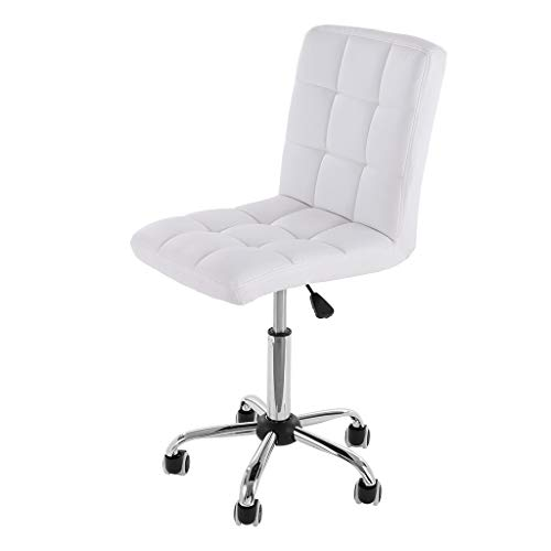 Price comparison product image Modern Simple Fashion Casual Lift Chair Office Work Chair Beauty Salon Chair Black- Reception Desk Chair - Office Chair for Adjustable Standing Desks,  Height 34-37in