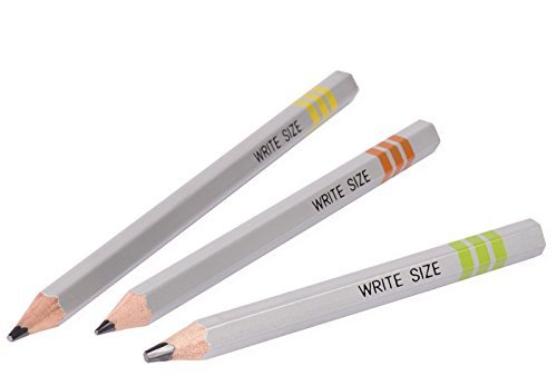 Write Size Write Size Pencils Writing Pencils