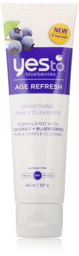 Yes To Blueberries Smoothing Cleanser, 4.5 Ounce