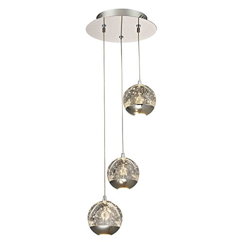 Multi Light Canopy (Design Classics Oui Chrome LED Multi-Light Pendant with)