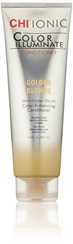 CHI Ionic Illuminate Color Golden Blonde Conditioner, 8.5 Fl Oz