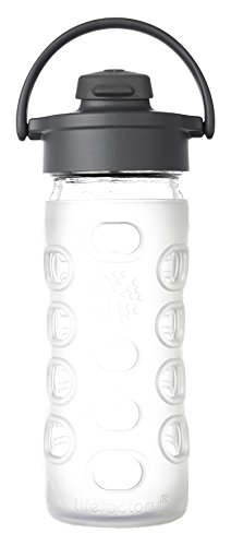 Lifefactory 12 Ounce BPA Free Silicone Transparent