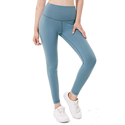 Ryfbre Pantalones Azul Leggings Yoga De Bolsillo Mujeres qpdwxq1rT
