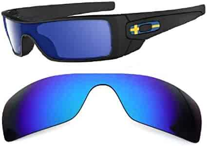 64afc31868b1 Galaxy Replacement Lenses For Oakley Batwolf Sunglasses Blue Polarized,100%  UVAB