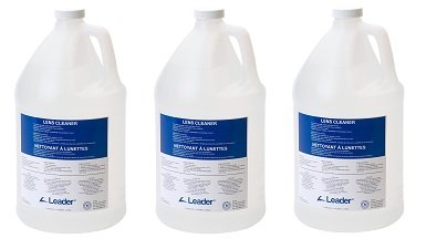 C-Clear 44 Lens Cleaning Cleaner Solution, 1 Gallon Capacity (3-(1 Gallon Capacity)) by Leader