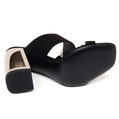 Matie' Shoe Donna Sandal Longisland Woman Nero Sandalo E9530 Black Vic Suede Scarpe dzqHRwd