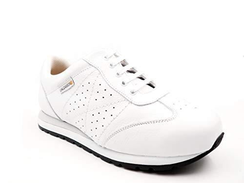 58 Sneaker Calzamedi Donna Blanco 0571 Bianco P5TCq