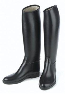 Ovation Derby/Cottage - Men's Lined Rubber Riding Boot Black Size 11 reg by Ovation