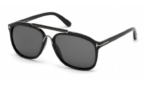 Sunglasses Tom Ford FT0300 01A shiny black / - Glasses Ford Warranty Tom