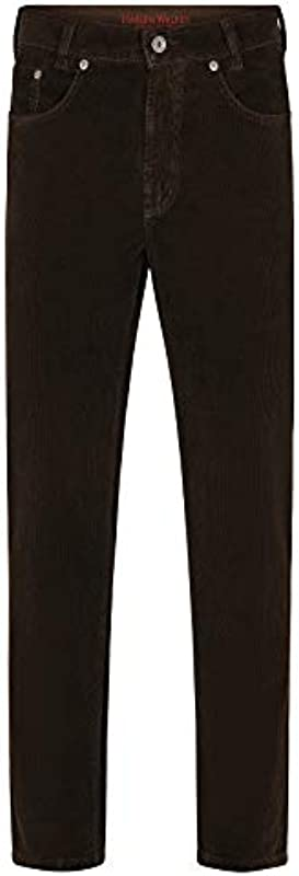 Joker dżinsy sztruks Harlem Walker, kolor: brązowy, rozmiar: 35: Odzież