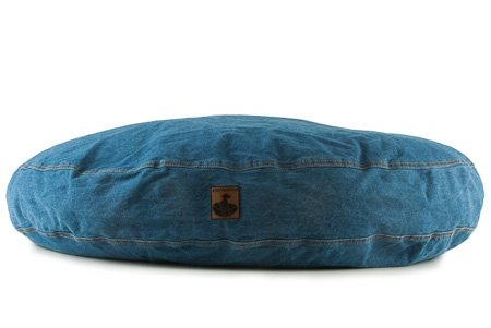 - K9 Ballistics Nesting Round Denim Bed Indigo - Small (24