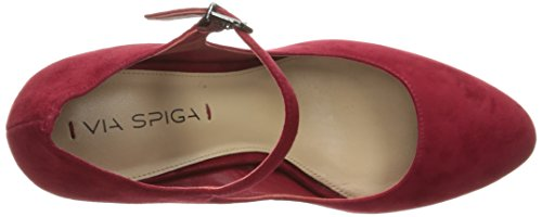 Via Spiga Women's V-Deanna Dress Pump Rich Poppy a45j6p0b
