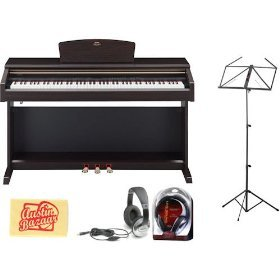 Yamaha YDP181 Digital Piano Bundle with Headphones, Music St
