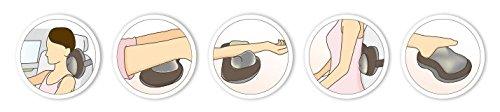 HealthmateForever control kneading massage pillow, Shiatsu back Shiatsu with Heat, Shiatsu Neck Massager massager, Shiatsu back roller body feels hand massager, body heated pain heat. Shipping ONLY