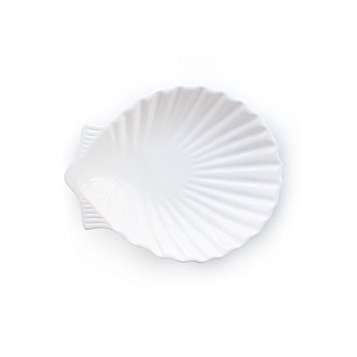 American Atelier by the Sea Round Shell Platter, 9