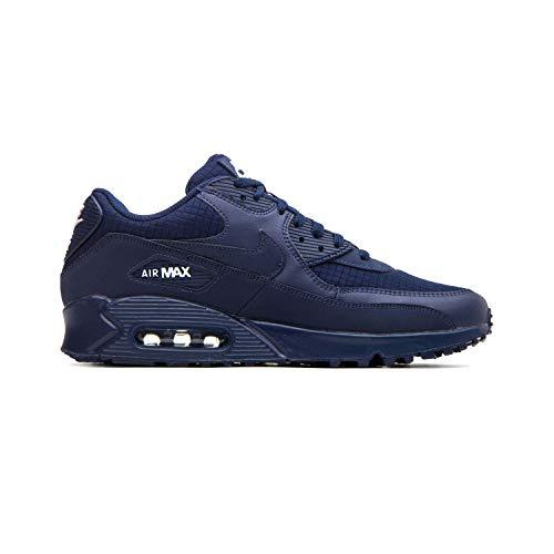 (Nike AJ1285-404: Men's Air Max 90 Essential Midnight Navy/White Sneaker (10 D(M) US Men))