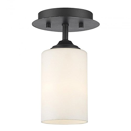 9 in. Flush Mount Light (Bordeaux Flush Mount Ceiling Light)
