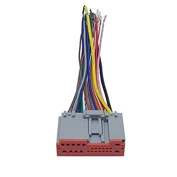 Amazon.com: FEELDO Car Radio Player Wiring Harness Audio ... on