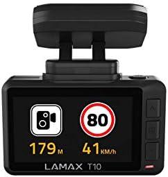 Lamax T10 Real 4k Dashcam Mit Gps Radarwarnung Wifi Elektronik