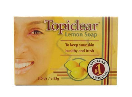 (Topiclear Lemon Soap 3.0 oz/e 85g)