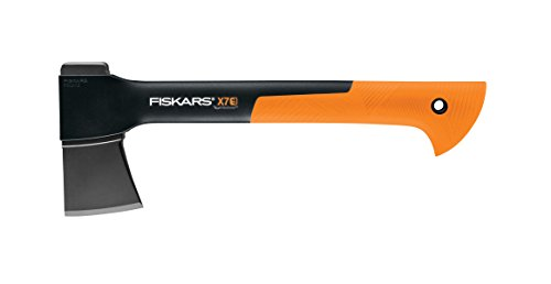 Fiskars 378501-1002 X7 Hatchet, 14 Inch, Black/Orange