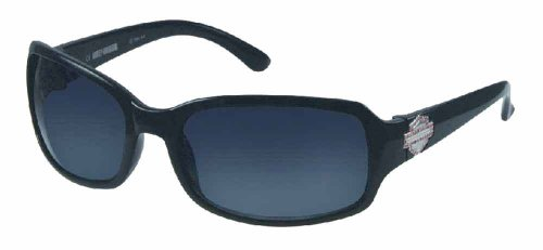 Harley-Davidson Women Sun Lifestyle Sunglass Stone B&S Plaque Black - Sunglasses Davidson