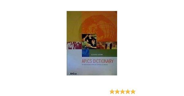 Dictionary pdf apics
