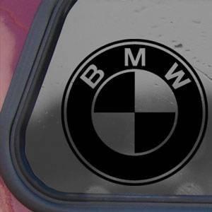 Amazoncom BMW Black Decal Car Truck Bumper Window Vinyl Sticker - Bmw car decals stickers