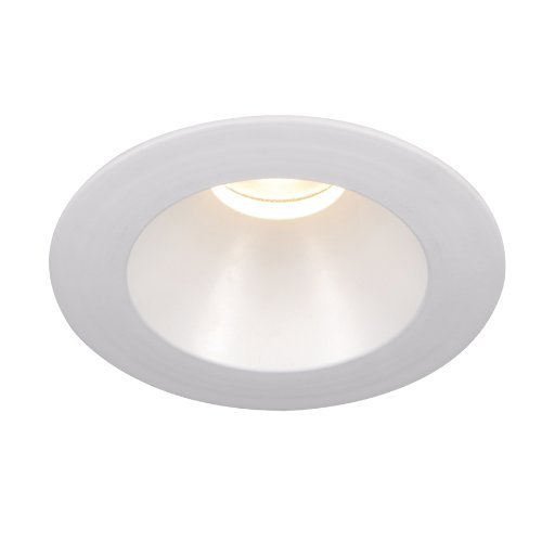 WAC Lighting HR-3LED-T118F-W-WT Tesla-3-Inch New Construction Non-IC Rated Airtight Trim, White Finish by WAC Lighting