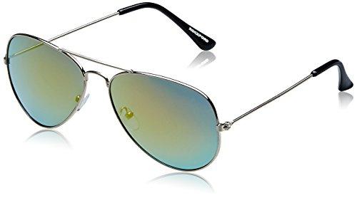 Rockford Aviator Sunglasses (Silver) (RF-111-C17 58)